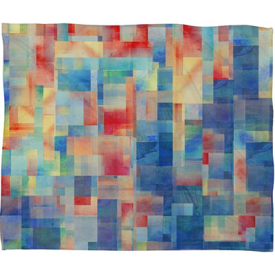 DENY Designs Jacqueline Maldonado Torrentremix Fleece Throw Blanket