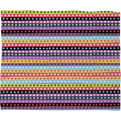 DENY Designs Khristian A Howell Valencia 4 Fleece Polyester Throw Blanket