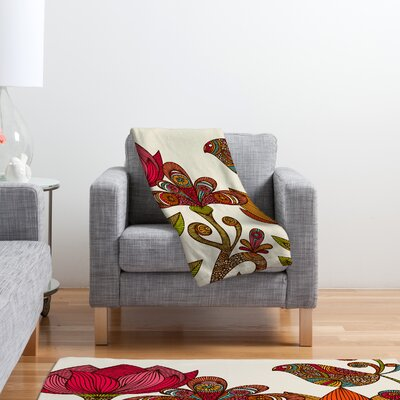 DENY Designs Valentina Ramos in The Garden Polyester Fleece Throw Blanket