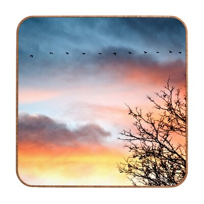DENY Designs Bird Wanna Whistle Bird Line Wall Art