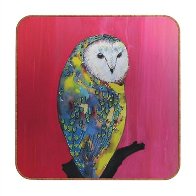 DENY Designs Clara Nilles Owl On Lipstick Wall Art
