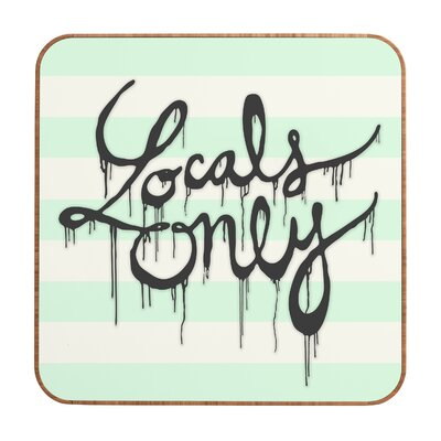 DENY Designs Wesley Bird Locals Only Wall Art