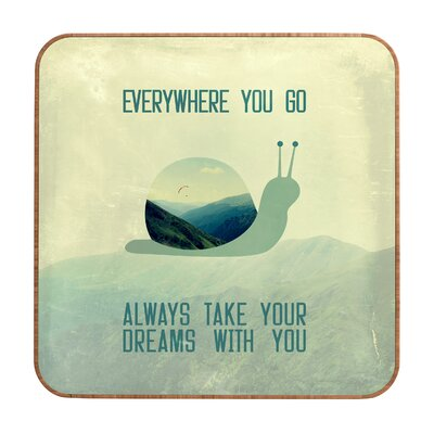 DENY Designs Belle13 Always Take Your Dreams With You Wall Art