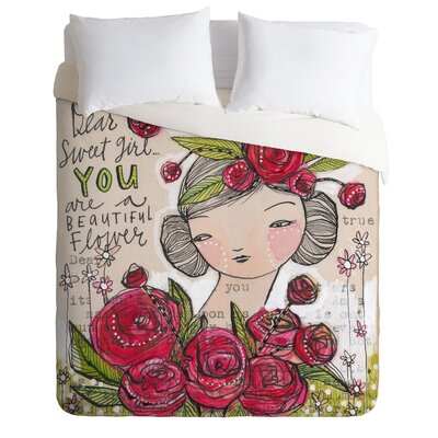 DENY Designs Cori Dantini Dear Sweet Girl Duvet Cover Collection