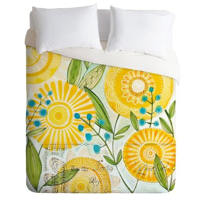 DENY Designs Cori Dantini Sun Burst Flowers Duvet Cover Collection