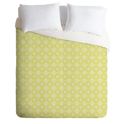 Caroline Okun Yellow Spirals Duvet Cover Collection