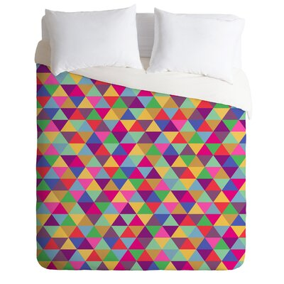 DENY Designs Bianca Green in Love with Triangles Duvet Cover Collection