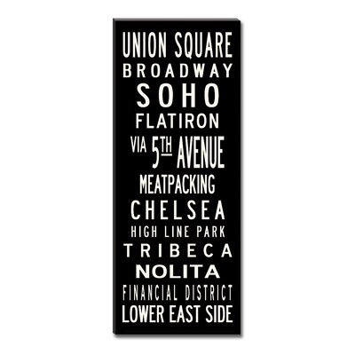 Uptown Artworks Union Square Sign Art