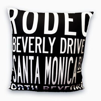Uptown Artworks Beverly Hills Pillow