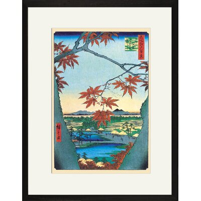 Buyenlarge Maple Trees Framed and Matted Print