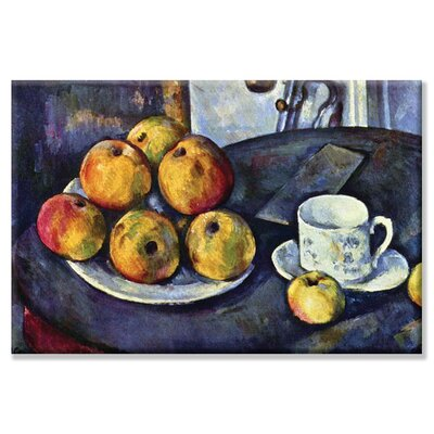 Buyenlarge Still Life with Cup & Saucer Canvas Wall Art