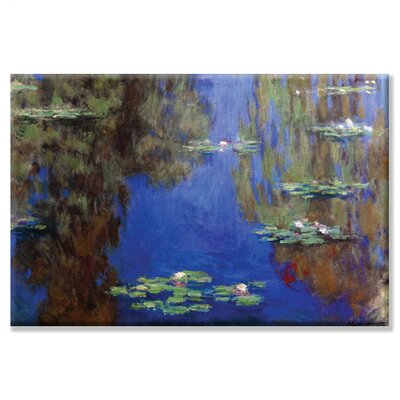 Buyenlarge Monet - Water Lilies Canvas Wall Art