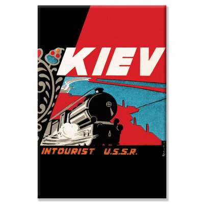 Buyenlarge Kiev - Intourist U.S.S.R. Canvas Wall Art