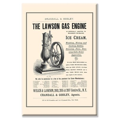 Buyenlarge The Lawson Gas Engine Canvas Wall Art
