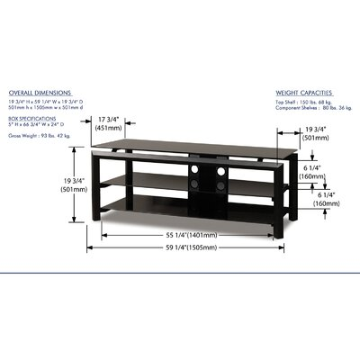 "Wildon Home ® Brito 60"" TV Stand"