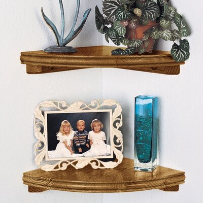 Woodland Home Decor Classic Corner Shelf