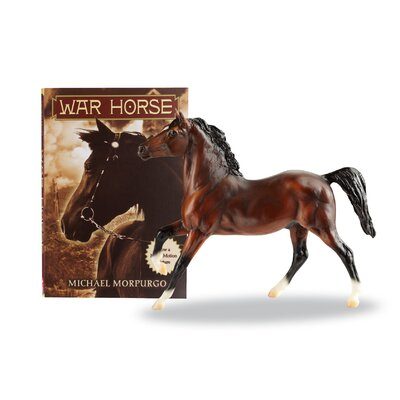 Breyer Horses Warhorse Joey with Book