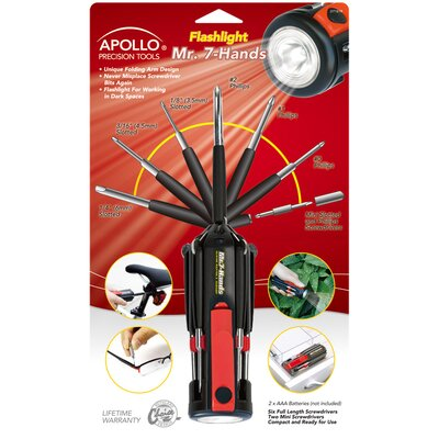 Apollo Tools Mr. 7 Hands Flashlight