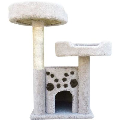New Cat Condos Double Perch Cat Condo