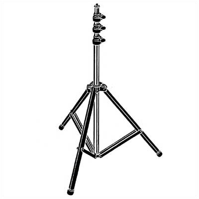 Testrite Pro Series 4-Section Light Stand