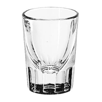 Libbey Whiskey Service 1.5 oz. Fluted Lined Shot Glass (Set of 48)