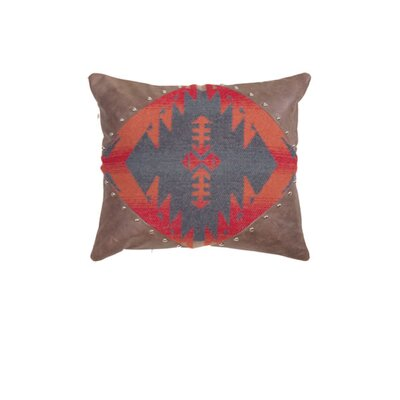 Wooded River Socorro Alligator Faux Leather Pillow