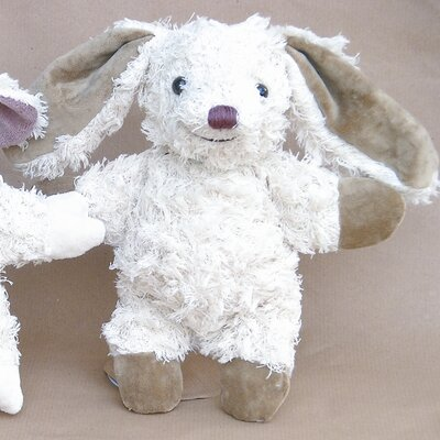 Challenge & Fun Kallisto Bunny Organic Stuffed Animal