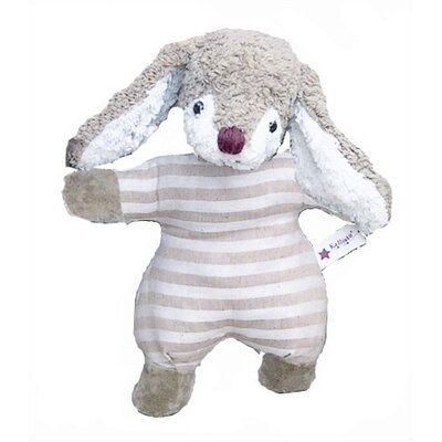 Challenge &amp; Fun Kallisto Bunny Baby Rattle Organic Stuffed Animal