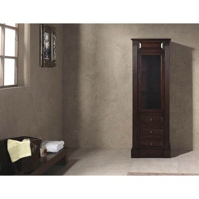 James Martin Furniture Tama Bathroom Linen Cabinet