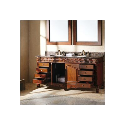 "James Martin Furniture Tanya 72"" Double Bathroom Vanity Set"