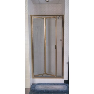 Coastal Industries Paragon Double Hinge Bifold Shower Door