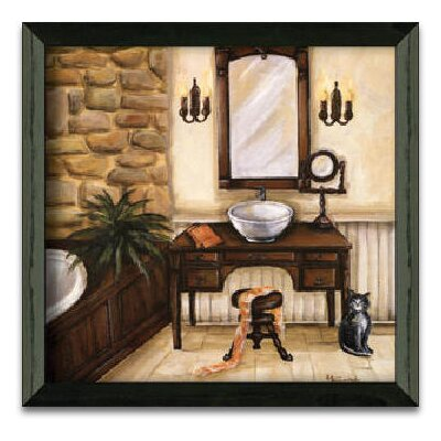 Timeless Frames Fireplace Escape II Art Print Wall Art