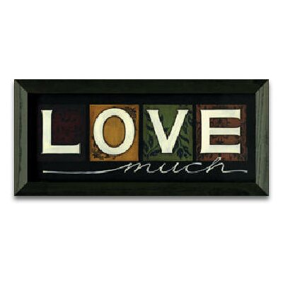 Timeless Frames Love Much Art Print Wall Art