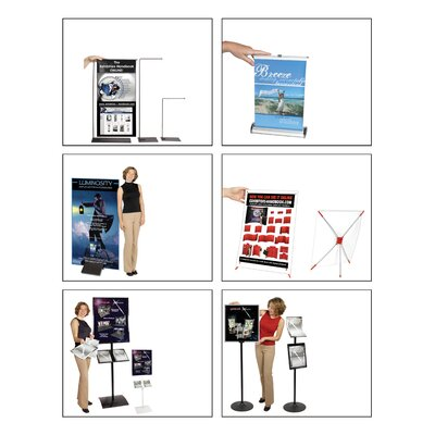 Orbus Inc. Observe Grand Heavy Duty Pedestrian Info Center