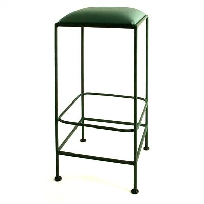 "Grace Collection 30"" Square Backless Metal Bar Stool"