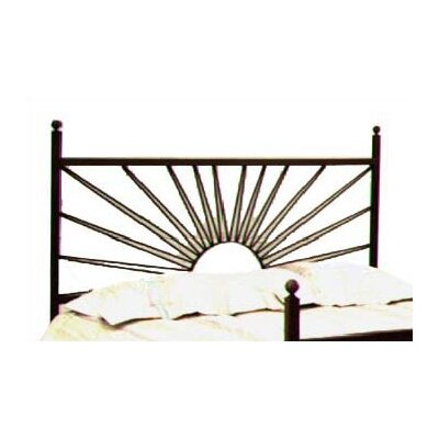 Grace Collection El Sol Wrought Iron Headboard