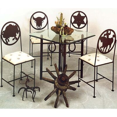 Grace Collection Horseshoe Cross Dining Table