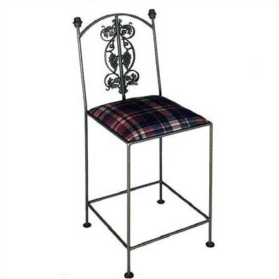 Grace Collection Vineyard Bar Stool with Arms