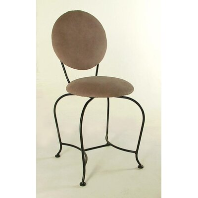 Vanity Swivel Stool with Back