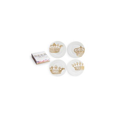 Rosanna Kings Road Redux Dessert Plates (Set of 4)