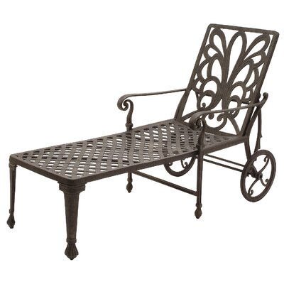 Suncoast Windsor Wheel Chaise Lounge