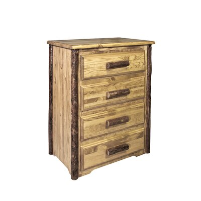 Montana Woodworks® Glacier Country 4 Drawer Chest