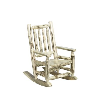 Montana Woodworks® Montana Log Child's Rocking Chair