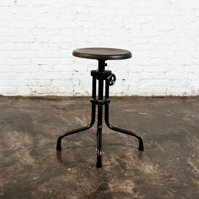 District Eight Design V19R Adjustable Dining Stool