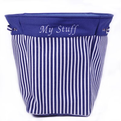 "Kindergarten Plus ""My Stuff"" Striped Canvas Tote"