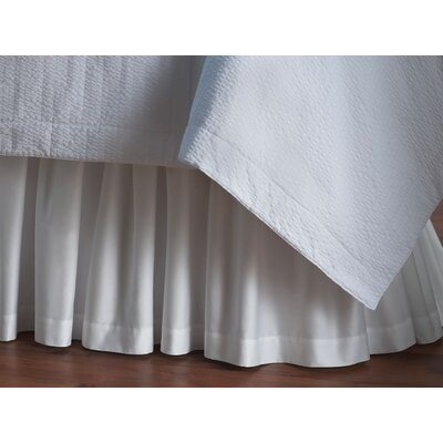 Peacock Alley Soprano Ruffled Paneled Bed Skirt