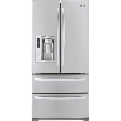 Energy Star 24.7 Cu. Ft. French Door Refrigerator with Double Freezer