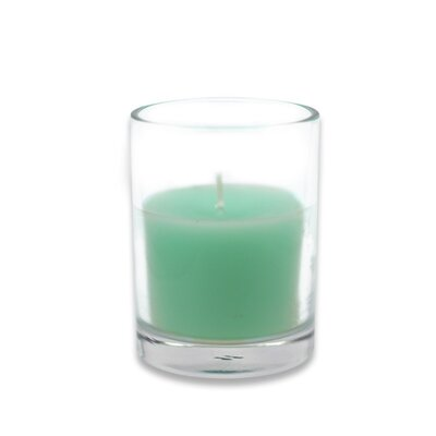 Round Glass Votive Candle