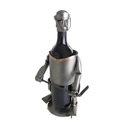 H & K SCULPTURES Hockey Wine Caddy