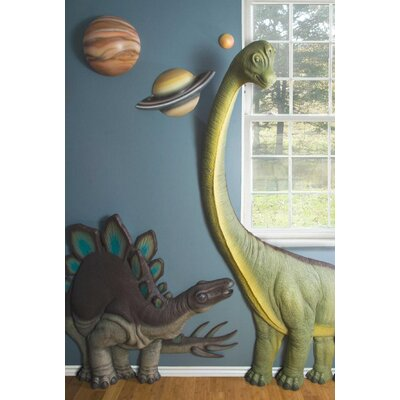 Beetling Design Stegosaurus 3D Wall Art Decor